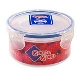 Контейнер пластиковый круглый для пищевых продуктов, 0,35 л, Good&Good
