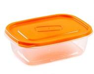 Контейнер пластиковый прямоугольный для пищевых продуктов, 450 мл, серия One Touch, Good&Good
