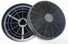 Комплект 2 шт. фильтров угольных D 166 мм для кухонной вытяжки вытяжки универсальный
