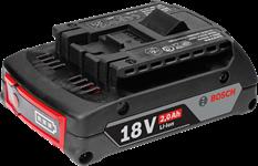 Аккумулятор Bosch GBA 18 V 2.0 Ah M-B Professional