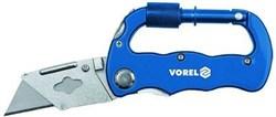 Нож складной туристический, рукоятка-карабин, трапециевидн лезвия VOREL