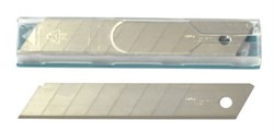 Лезвия сегментные д/ножа 18мм, толщ 0,5мм Solingen (упак/10шт)