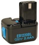 Аккумулятор HITACHI EB 1220 BL (12.0 В, 2.0 А/ч), Ni-Cd