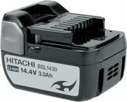 Аккумулятор HITACHI BSL 1430 (14.4 В, 3.0 А/ч), Li-Ion