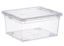 Ящик для хранения прозрачный 190x160x90мм
