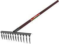 Грабли БелЦентроМаш 12 зуб, дер. черенок, 130 см