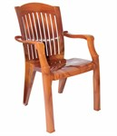 "Пластиковый стул-кресло ""Премиум-1 Серия Лессир"" (900х560х450)мм"
