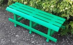 Скамейка садовая без спинки (1200x410x435 мм)