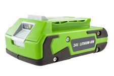 Литий-ионный аккумулятор GreenWorks G24B2 (24 В, 2.0 А*ч)