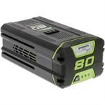 Литий-ионный аккумулятор GreenWorks G80B4 (80 В, 4.0 А*ч)