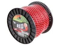 Леска ф 3.0 мм х 225 м круглого сечения Red Line OREGON