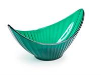 Креманка пластмассовая 200 мл, серия Akri, зеленый полупрозрачный, BEROSSI