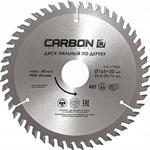 Диск пильный по дереву 165x30/25.4/20/16мм 48 зубьев CARBON