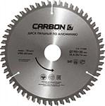 Диск пильный по алюминию 190x30/25.4/20/16 мм 54 зуба CARBON