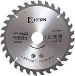 Диск пильный по дереву 160x30/25.4/20/16 мм, 24 зуба KERN