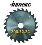 Пила дисковая ИН.01.200.32.24 (3,2/2,0) 8000 об/мин с твердосплавными пластинами