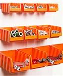 Набор лотков для метизов (оранж.) (IDEA)