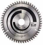 Диск пильный 190х30 мм, 54 зуба, универсальный MULTIMATERIAL BOSCH (твердоспл. зуб)