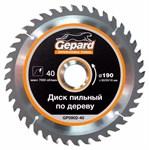 Диск пильный 300х32 мм 48 зуб. по дереву GEPARD (твердоспл. зуб)