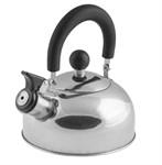 Чайник со свистком, нержавеющая сталь, 1,2 л, серия Holiday, серебристый металлик, PERFECTO LINEA
