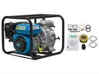Мотопомпа бензиновая ECO WP-1403 D (для загрязнённой воды, 4,9 кВт, 1400 л/мин)