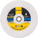 Круг точильный 125х16х12,7/9,5мм, тип 1, зерно 60, белый электрокорунд 25А KERN