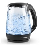 Чайник электрический стеклянный AKL-232 NORMANN (2200 Вт; 1,7 л; стекло; подсветка)