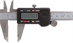 Штангенциркуль 150 мм, цифровой, метрич. и дюймовая шкала, точность 0,02 мм KERN