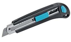 Нож строительный 1392, 18 мм, 3 лезв/компл, ЦентроИнструмент