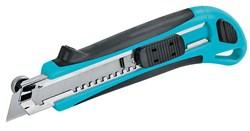 Нож строительный с упором 1210, 18 мм, 3 лезв/компл, ЦентроИнструмент