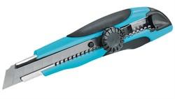 Нож строительный с крутящимся фиксатором 1211, 18 мм, ЦентроИнструмент