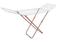 Сушилка для белья напольная складная, 18 м, 180*50*90, серия Bona, бело-красная, PERFECTO LINEA