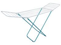 Сушилка для белья напольная складная, 16 м, 167*46*84, серия Maria, бело-голубая, PERFECTO LINEA