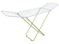 Сушилка для белья напольная складная, 16 м, 167*46*84, серия Maria, бело-зеленая, PERFECTO LINEA