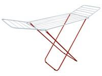 Сушилка для белья напольная складная, 16 м, 167*46*84, серия Maria, бело-красная, PERFECTO LINEA
