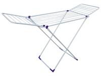 Сушилка для белья напольная складная, 18 м, 172*56*90, серия Stella, бело-фиолетовая, PERFECTO LINEA