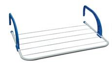 Сушилка для белья навесная, 3 м, 51*33*13, серия Optima, бело-синяя, PERFECTO LINEA