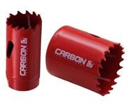 Коронка биметаллическая d19-106 мм, глуб. 38мм, HSS M42 (HSS-Co 8%), Carbon
