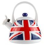 Чайник стальной эмалированный, 2.0 л, серия Британские флаги, GEIST