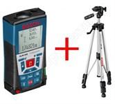Дальномер лазерный BOSCH GLM 250 VF + штатив BS 150 (0.05 - 250 м, +/- 1 мм/м, IP 54)