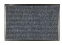 Коврик придверный влаговпитывающий ребристый Tuff серый, 400х600 мм, BLABAR