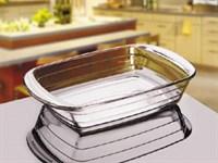 Форма из закаленного стекла, 2.0л, овальная, в индивидуальной цветной упаковке(30х21см)  Прекрасный подарок, который можно использовать в каждый день. -выдерживает температурный режим от до +250 С -безопасна для здоровья -не удерживает загрязнения и не впитывает ни жир, ни вкусы, низапахи -есть возможность наблюдать за процессом приготовления -можно использовать для хранения продуктов в холодильнике -можно использовать в микроволновой печи ( t до 250 С) , духовых шкафах -обладает высокой гигиеничностью -можно мыть в посудомоечной машине  ПРЕДОСТОРОЖНОСТИ: -перед первым использованием промыть -не использовать для приготовления пищи при наличии трещин и сколов -не использовать на открытом огне без рассекателя -не ставить пустую посуду в микроволновую печь -не использовать моющие абразивные средства -не допускать резких перепадов температур