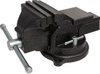 Тиски слесарные 100 мм, 7,0 кг, поворотные, с наковальней KERN