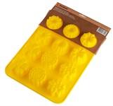 Форма для выпечки, силиконовая, прямоугольная на 12 элементов, 31,5 х 24 х 3 см, PERFECTO LINEA