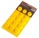Форма для выпечки, силиконовая, прямоугольная на 15 элементов, 29 х 17 х 2 см, PERFECTO LINEA