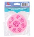 Форма для мастики, силиконовая, розы, 8,3 х 8,3 х 1,3 см, PERFECTO LINEA