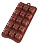 Форма для шоколада, силиконовая, прямоугольная на 15 элементов, 21 х 10,5 х 2 см, PERFECTO LINEA