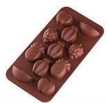 Форма для шоколада, силиконовая, прямоугольная на 11 элементов, 20 х 10,5 х 1,5 см, PERFECTO LINEA