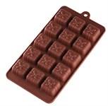 Форма для шоколада, силиконовая, прямоугольная на 15 элементов, 22 х 11,2 х 1,9 см, PERFECTO LINEA