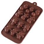 Форма для шоколада, силиконовая, прямоугольная на 12 элементов, 22,5 х 10,7 х 1,5 см, PERFECTO LINEA